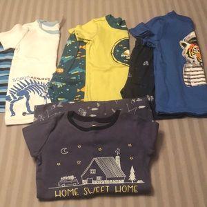 Toddler Boy Pajama Sets Bundle